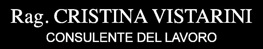Rag. Cristina Vistarini